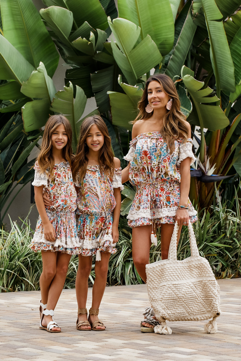 FRANCESCA FLORAL DRESS MULTI - MOMMY