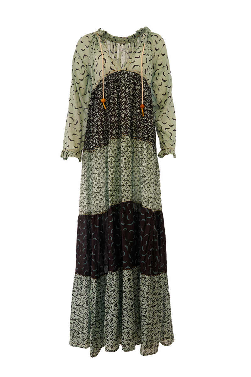 GEMINI DRESS GREEN