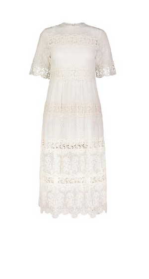 LIANE DRESS OFF WHITE