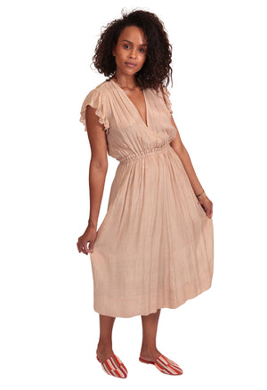 ADELAIDE DRESS CHAMPAGNE