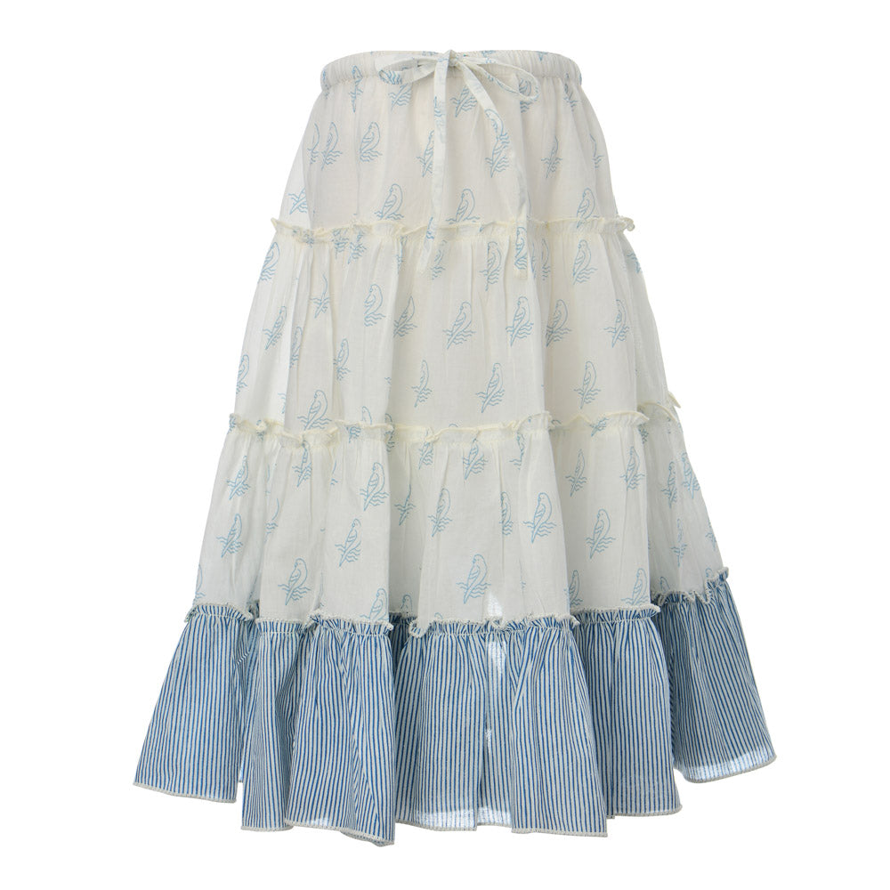 AMAZON SKIRT | BLUE