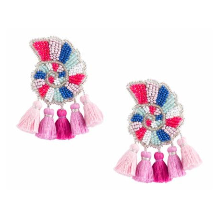 Aranci Earrings - Pink