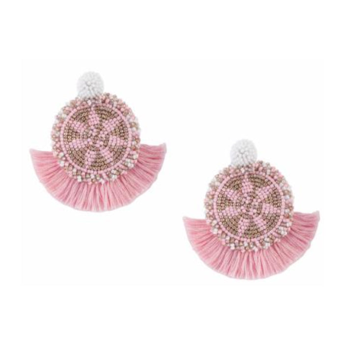 Havana Cotton Earrings