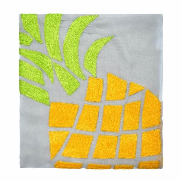 Island Pineapple Pareo - Grey
