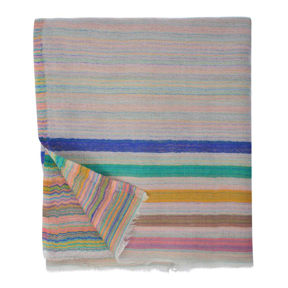 Kani Stripes Pashmina - Grey