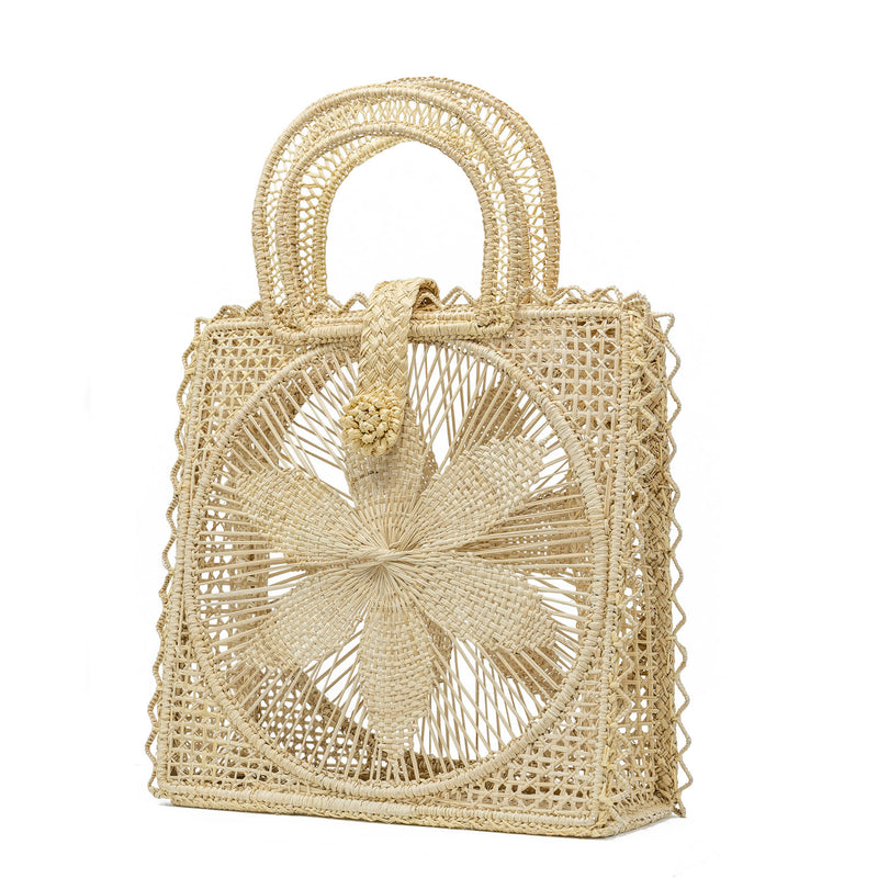 Magnolia Basket Bag - Natural