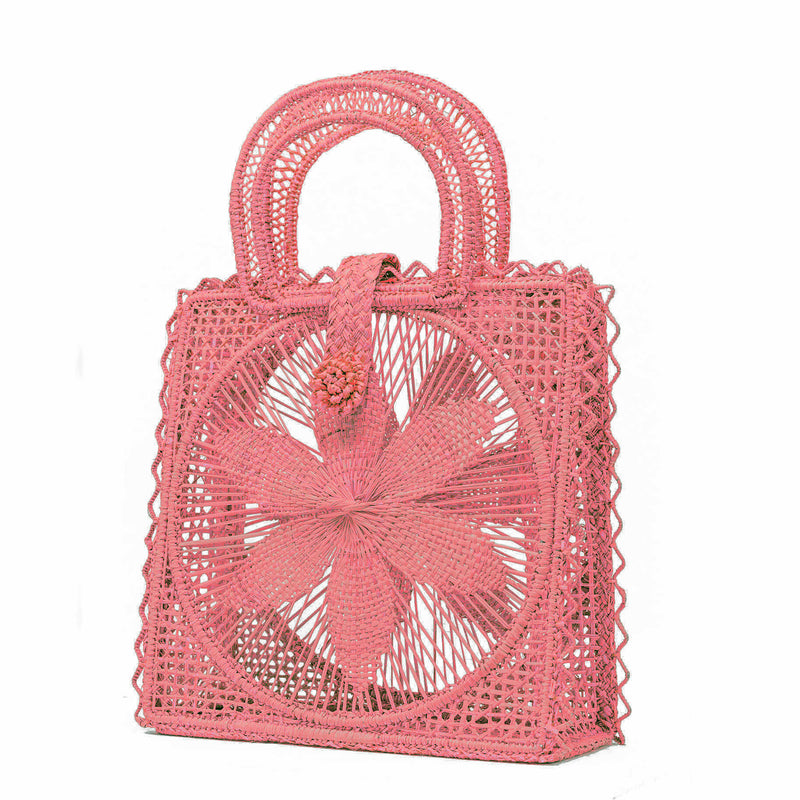 Magnolia Basket Bag - Pink