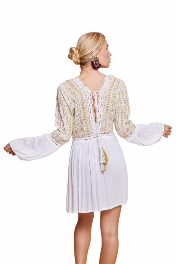 Malaia Tunic - Gold