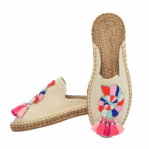 SEA SHELL ESPADRILLES - MULTI
