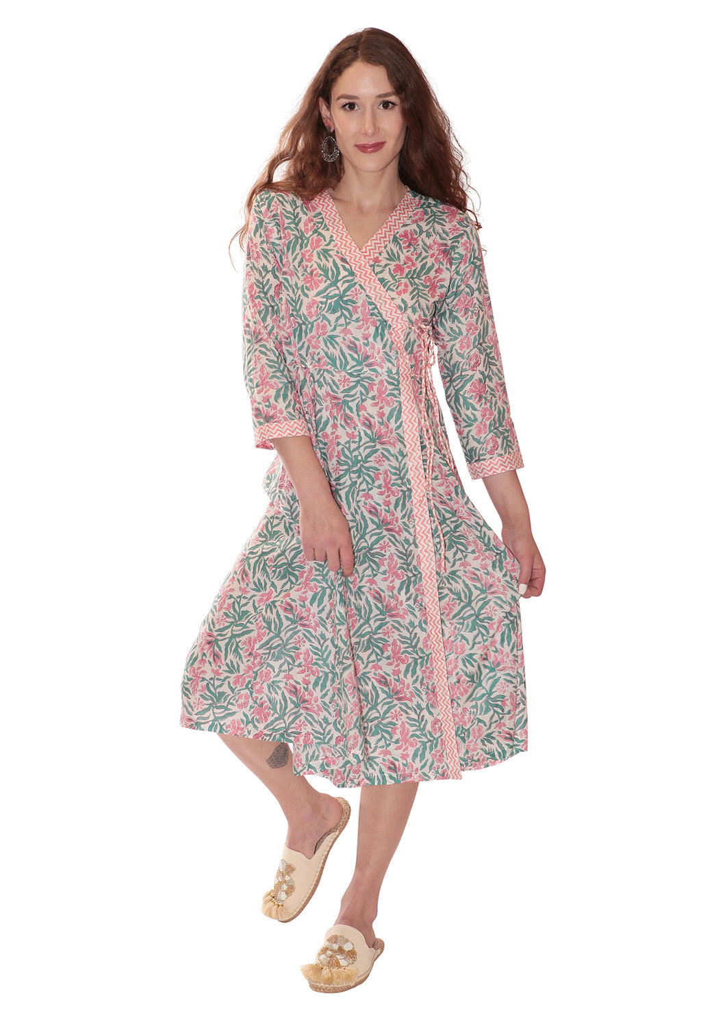 Tuleries Wrap Dress