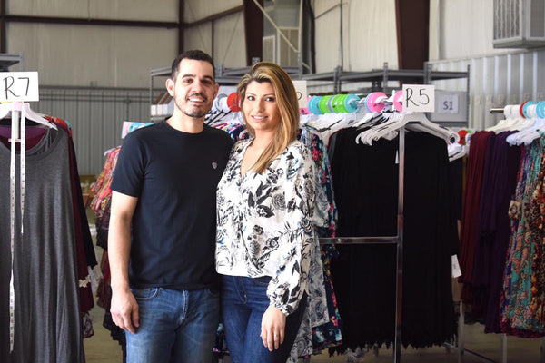 Angel Heart Boutique Owners - Schay Silva and Felipe Resende