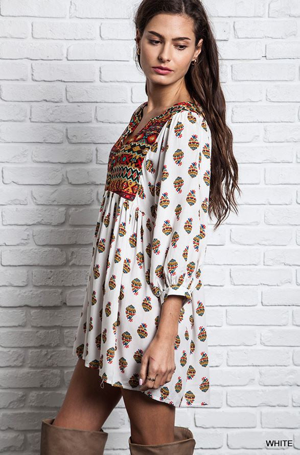 Navajo Moon Tunic - SALE - Angel Heart Boutique - Dress - Angel Heart Boutique  - 4