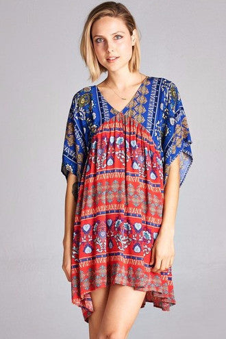 Catch Some Rays Dress - Red - Angel Heart Boutique - Tunic - Angel Heart Boutique  - 2
