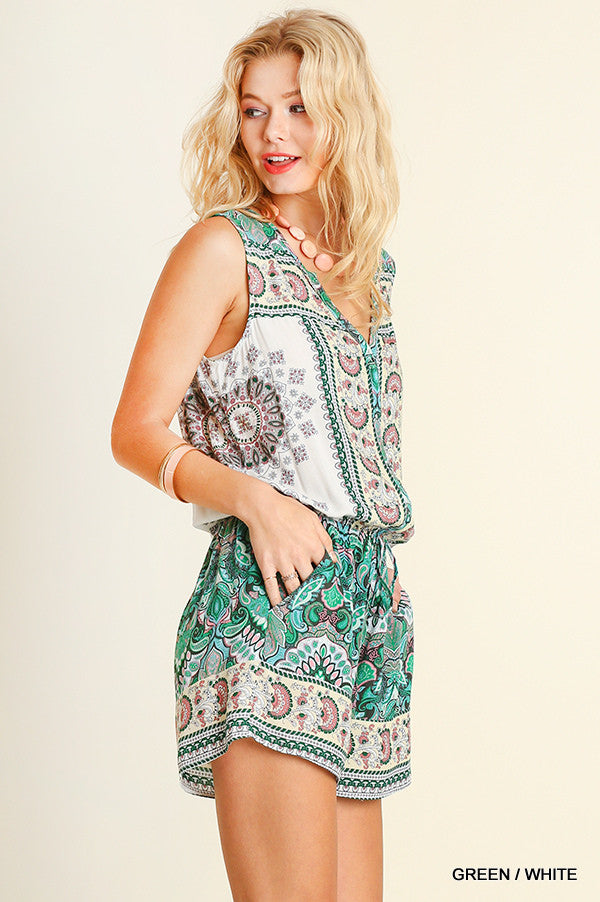It's Your Moment Romper - Green - SALE (XL,1X) - Angel Heart Boutique -  - Angel Heart Boutique  - 3