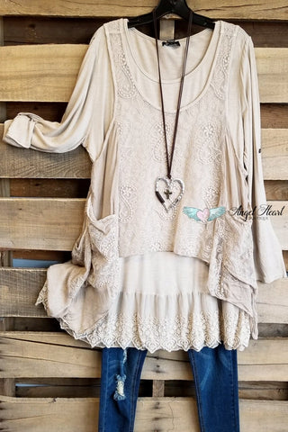 So Into You Cardigan - Olive