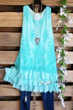 Thinking About You Dress - Mint [product type] - Angel Heart Boutique