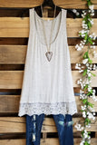 Steal Your Love Extender - Heather Gray [product type] - Angel Heart Boutique