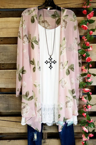 Get Your Groove On Tunic - Pink/Mint Mix