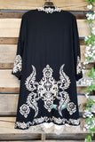 Rise Of Romance Cardigan - Black [product type] - Angel Heart Boutique