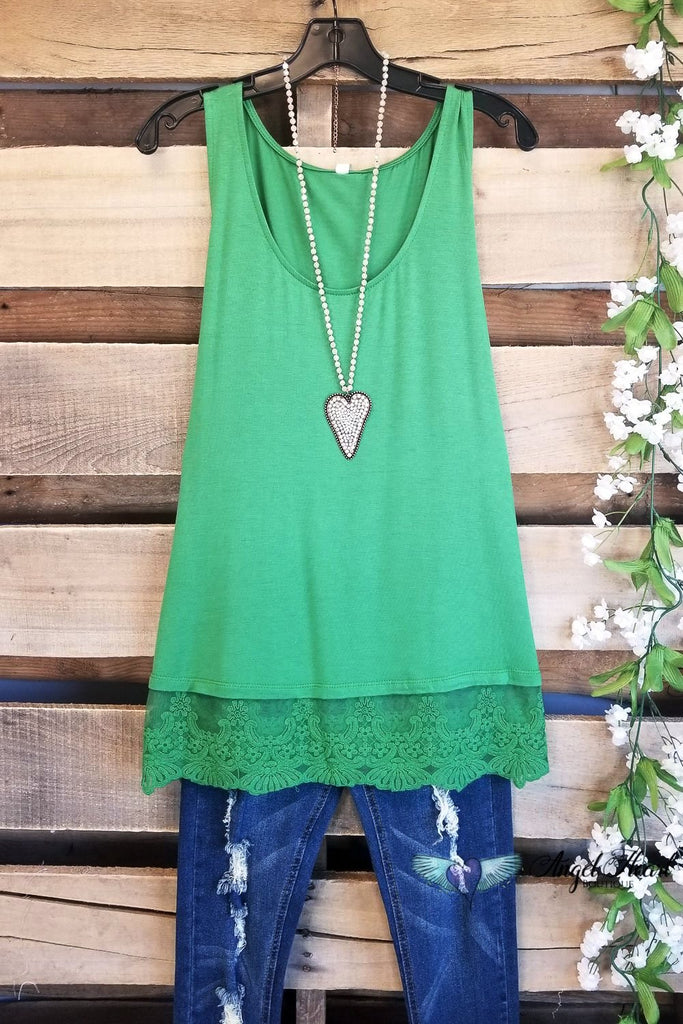 Steal Your Love Extender - Apple Green [product type] - Angel Heart Boutique