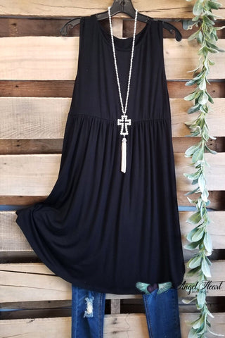 Classy and Lovely Dress - Black