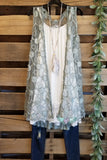 Layered In Lace Vest- Dusty Mint [product type] - Angel Heart Boutique