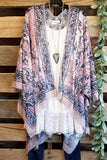 Beauty On Display Kimono - Grey Mix [product type] - Angel Heart Boutique