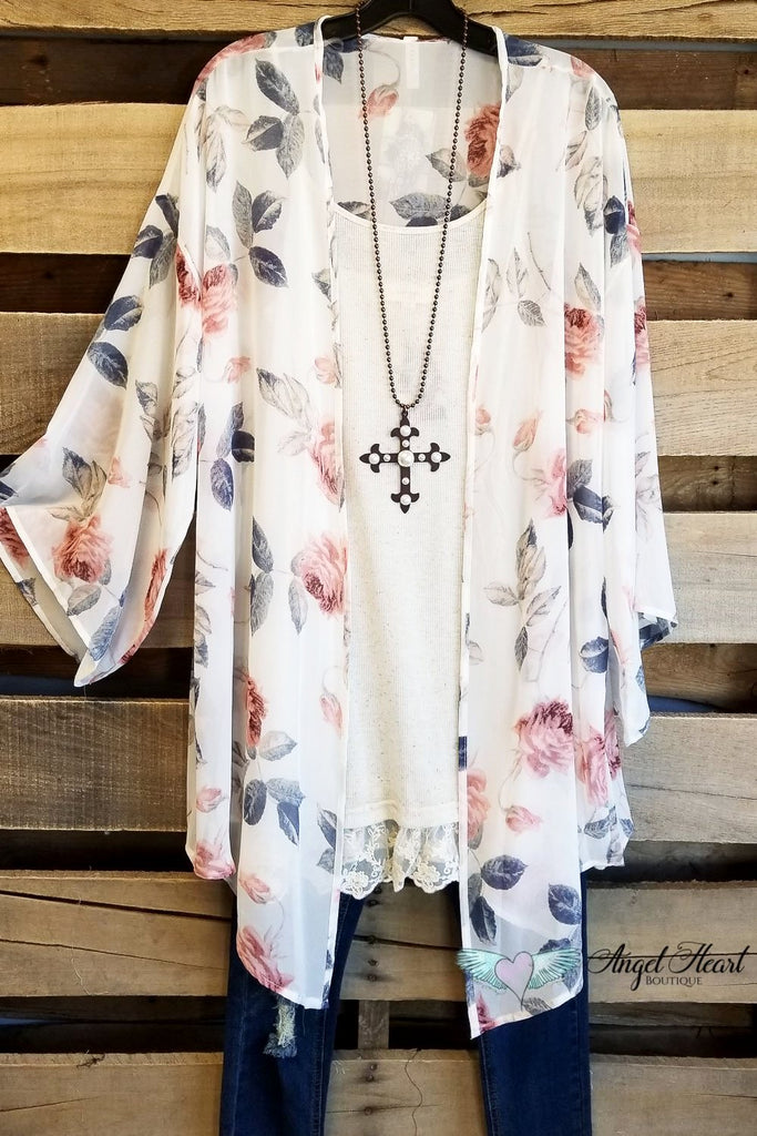 Perfect Moment Cardigan - Ivory [product type] - Angel Heart Boutique