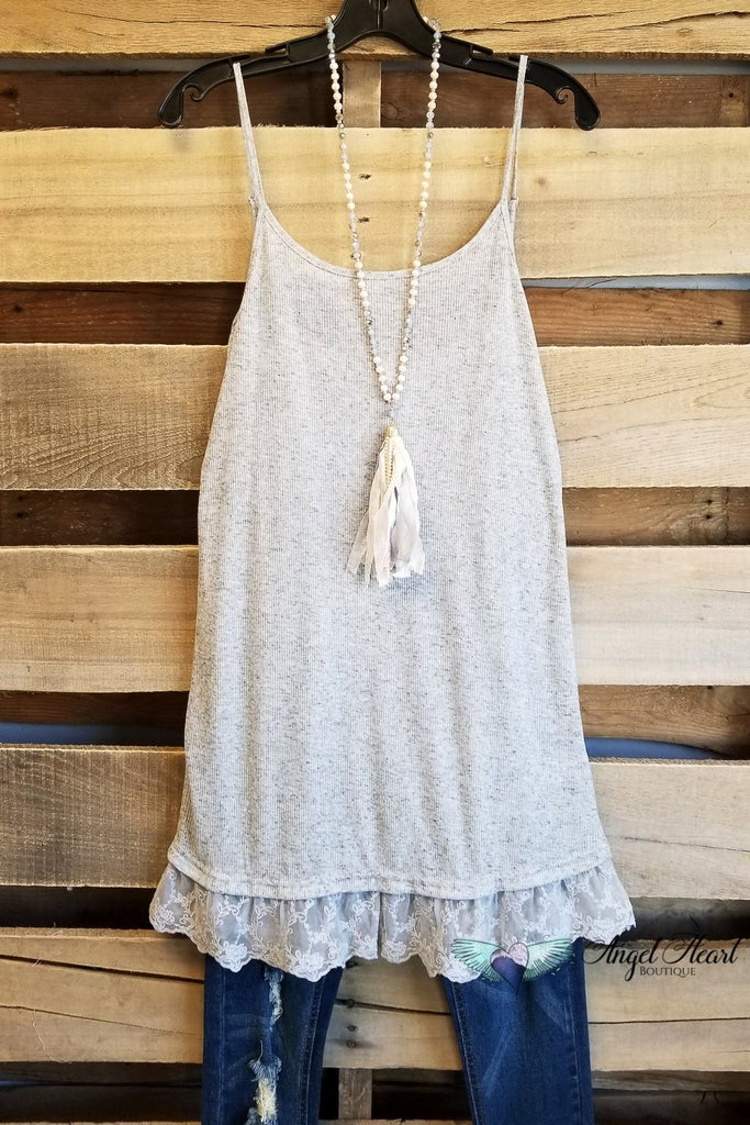 My Sweet Cami - Grey [product type] - Angel Heart Boutique
