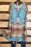 Every Single Aspect Tunic - Teal [product type] - Angel Heart Boutique