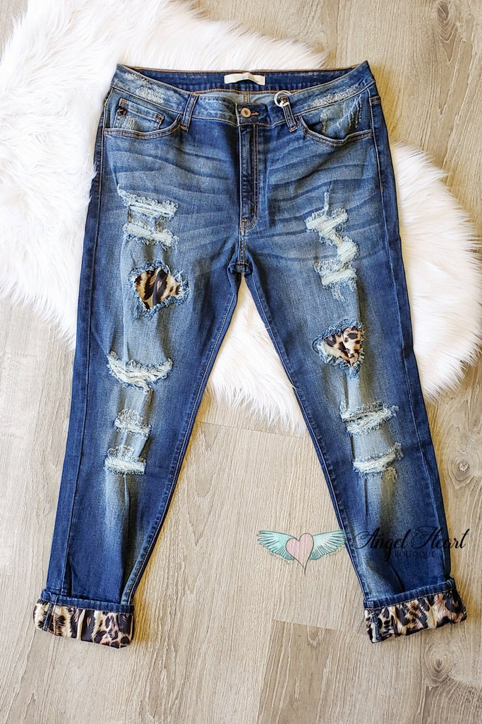 That Cat Walk Denim [product type] - Angel Heart Boutique