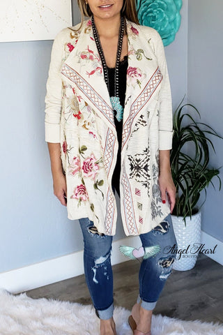 AHB EXCLUSIVE - Into The Wild Cardigan - Olive