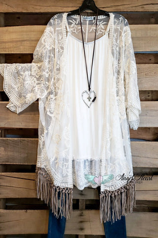 Such a Fun Piece Poncho - Gray
