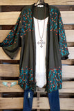 AHB EXCLUSIVE - Into The Wild Cardigan - Olive [product type] - Angel Heart Boutique