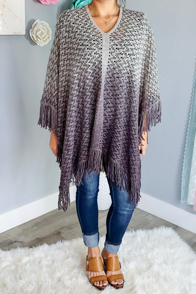 Such a Fun Piece Poncho - PRE ORDER [product type] - Angel Heart Boutique