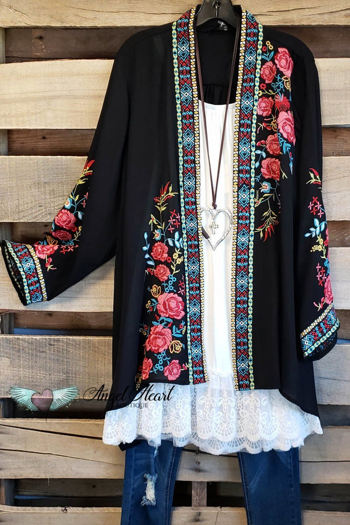AHB EXCLUSIVE - Secret Garden Cardigan [product type] - Angel Heart Boutique