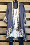 Rise Of Romance Cardigan - Grey [product type] - Angel Heart Boutique