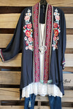 Long Time Favorite Cardigan - Charcoal [product type] - Angel Heart Boutique
