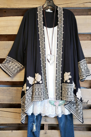 Greatest Love Of All Tunic - Black - SALE