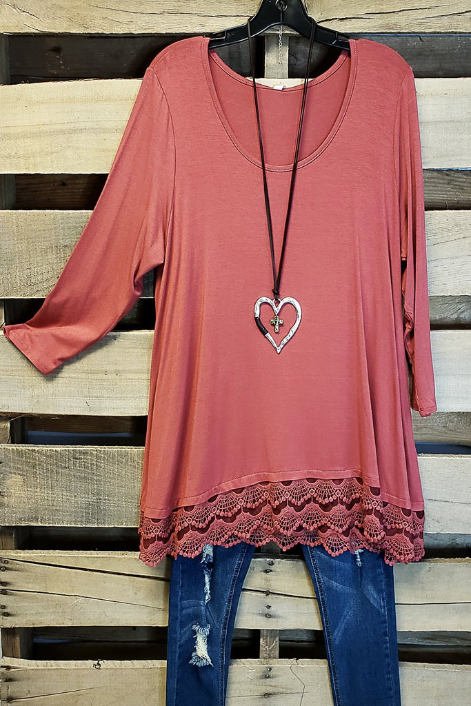 Any Occasion Tunic - Marsala [product type] - Angel Heart Boutique