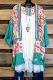 Better Than Yours Kimono - Green - SALE