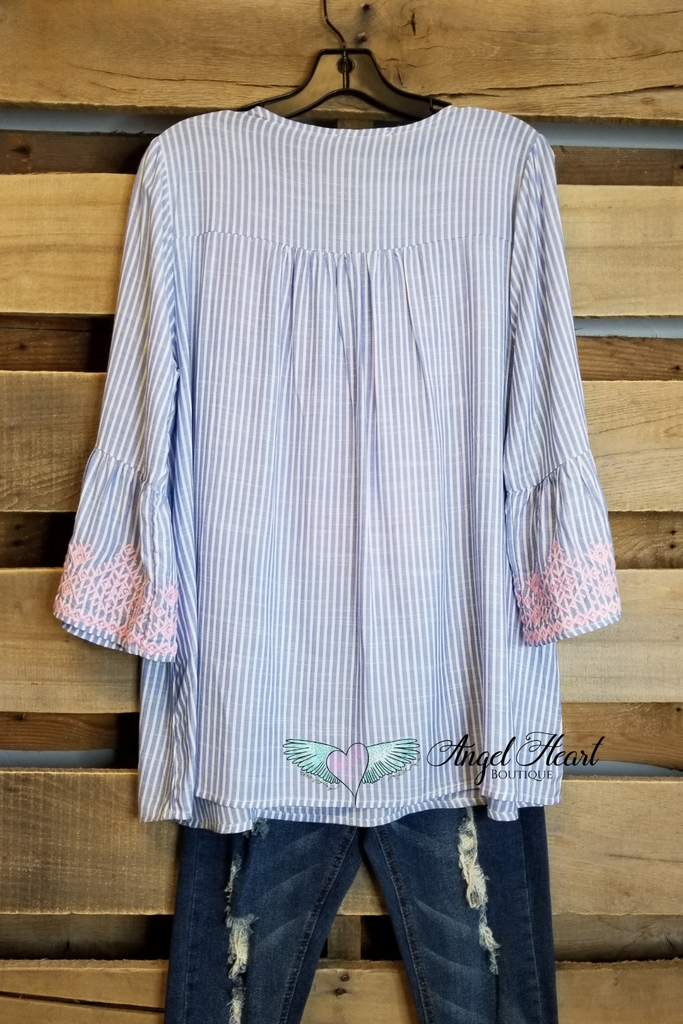 Sweet Intentions Top - Blue