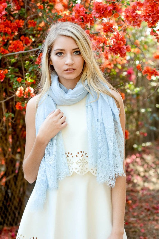 What Love Is Scarf - Aqua - Angel Heart Boutique - Scarf - Angel Heart Boutique  - 1