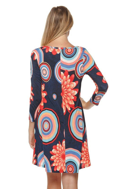 Never Too Busy Dress - Navy - Angel Heart Boutique - Tunic - Angel Heart Boutique  - 6