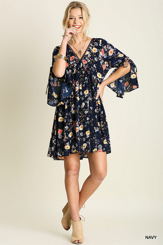 One For Love Dress - Navy (M LEFT) - Umgee - Dress - Angel Heart Boutique  - 1