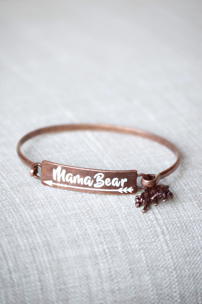 Mama Bear Bracelet [product type] - Angel Heart Boutique