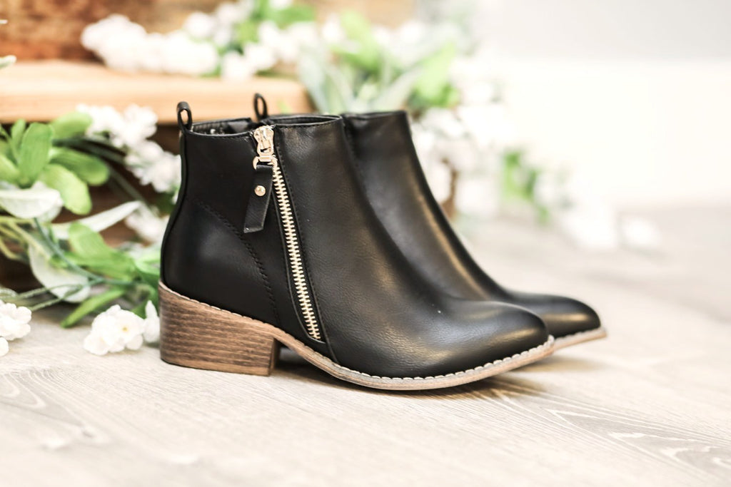 My Go To Booties - Black