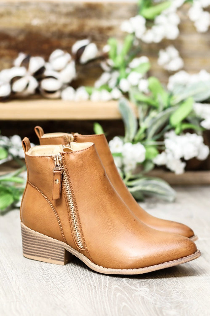 My Go To Booties - Tan