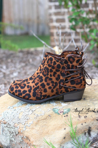 Catwalk Wedge - Leopard - SALE (Sizes 5.5, 6 & 7 Left)