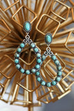 AUTHENTIC TURQUOISE STONE - Fiji Earrings [product type] - Angel Heart Boutique